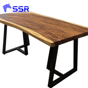 Wenge Black Walnut Acacia Wood Table Top For Dinning Room Furniture