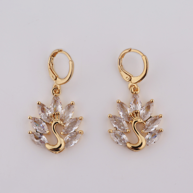 China Factory New 2017 Latest Gold Earring Designs For Women, View ...
