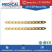 Orthopedic Products Supplier LCP LC DCP Titanium Narrow Plate