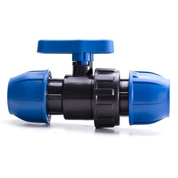 PP Compression Ball Valve 25 mm