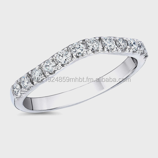 real diamond Silver rings