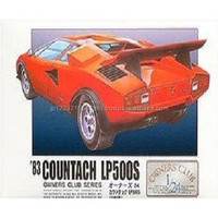 Standard level and Durable Owner 24No.23 '83 Countach LP500 Plastic model at reasonable prices