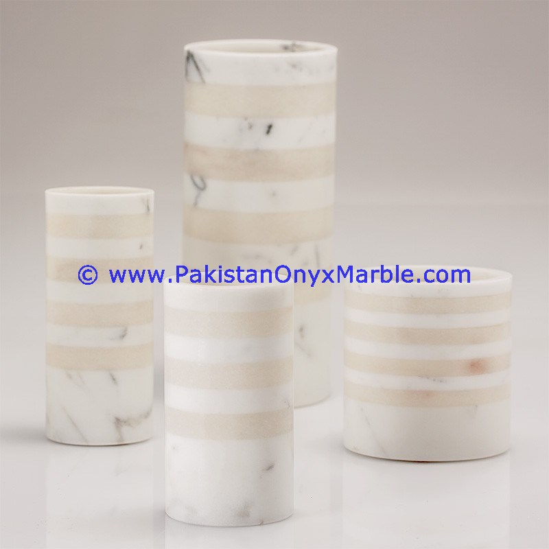 Engraved Marble Vase wholesaler and exporter