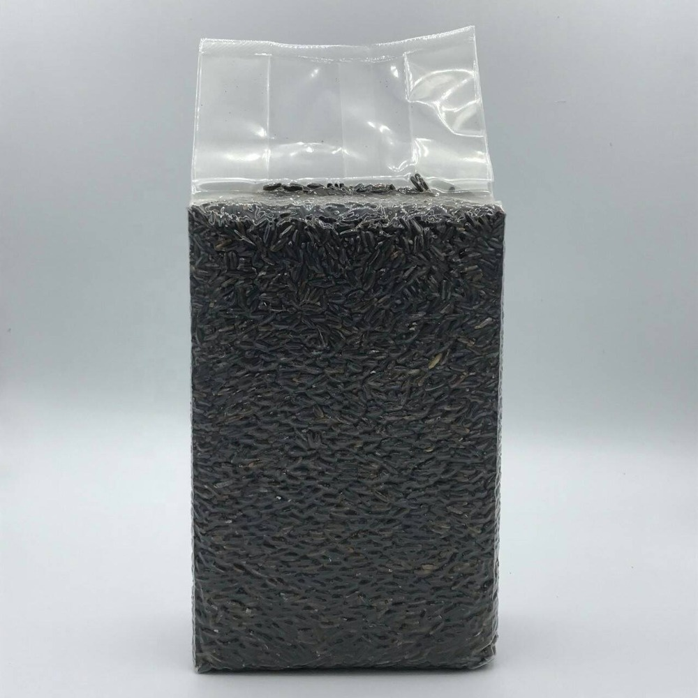 Wholesale Thai Black Organic Jasmine Rice Berry in Vacuum packaging