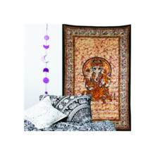 อินเดีย Hippie Decor Mandala Wall Lord Ganesha พิมพ์ Bohemian tapestry