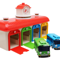 Tayo Bus- Garage set Kid Education Toy Car Child Toys