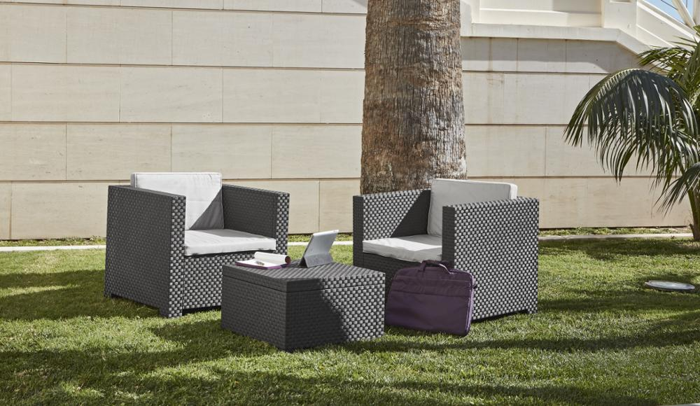 Lounge Set Outdoor Garden Furniture Diva Tet A