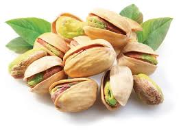 Chinese salt baked white pistachios dried nut ripe