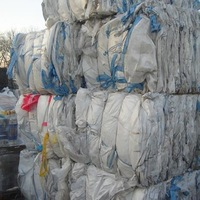 PP jumbo bags scrap bulk grade A baled big bags used washed plastic scraps