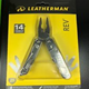 Leatherman Rev Stainless Steel Multi Tool w/ Pocket Clip - 14 Tools