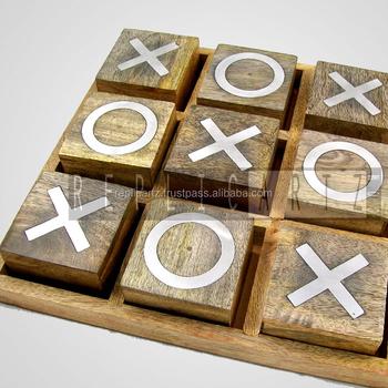 Mango Holz Tic Tac Toe Spiel Buy Tic Tac Toe Holzbrettspiel