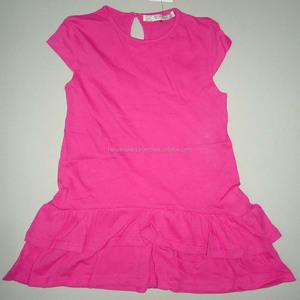 Summer children clothes Soft and smooth kids wear 100% Cotton single jersey Children wear