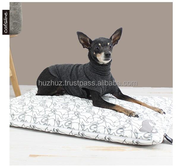 Catsline luxury Soft warm latex pet dog cat mat puppy pads pet bed mat  cushion