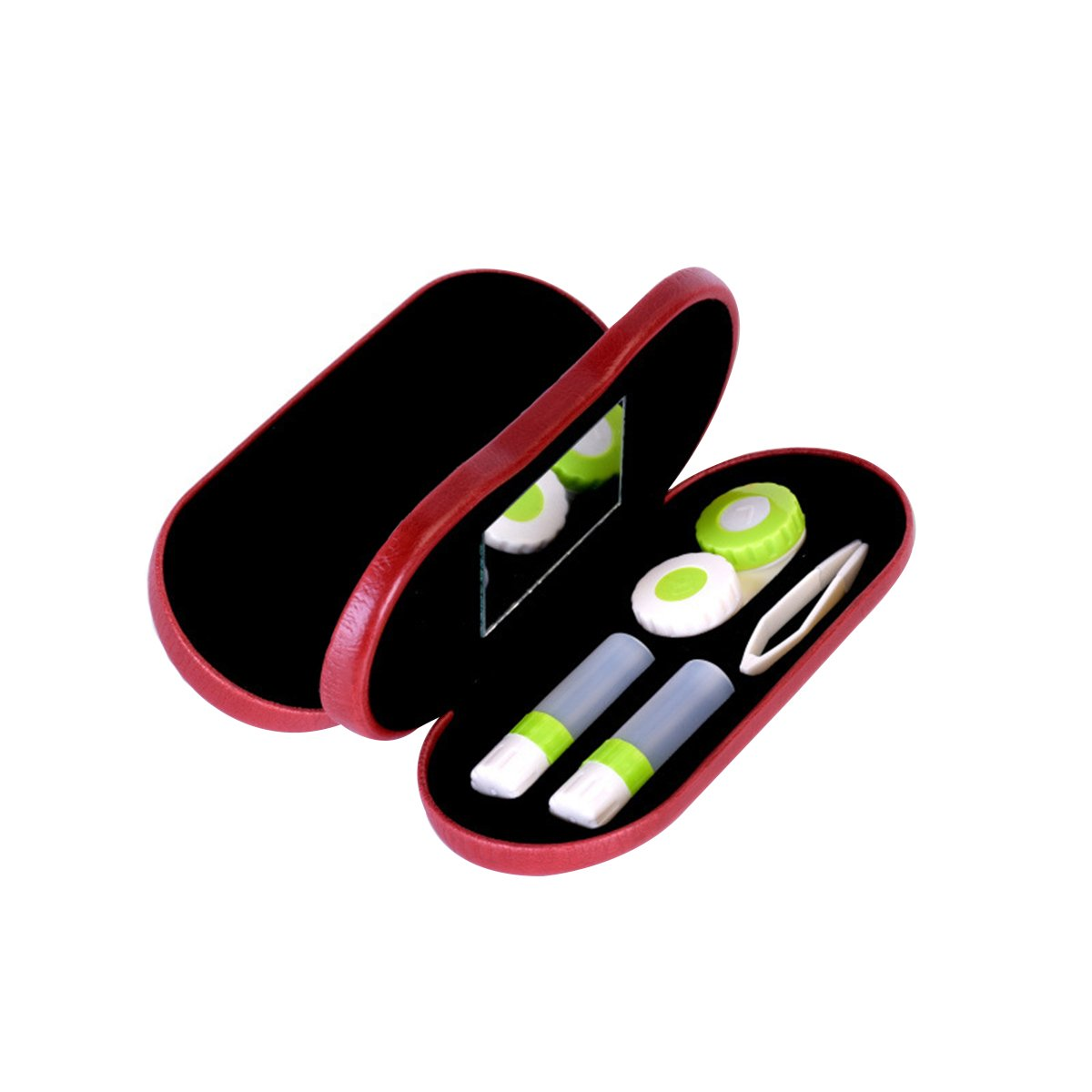 594d3cfa214 Get Quotations · ROSENICE Contact Lenses 2-in-1 Eyeglass and Contact Lens  Case Double Use Portable