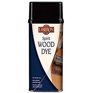 Liberon WDST250 Spirit Wood Dye Teak 250ml by Liberon