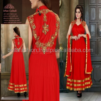Latest Beautiful Indian Wedding And Party Wear Anarkali Style ...