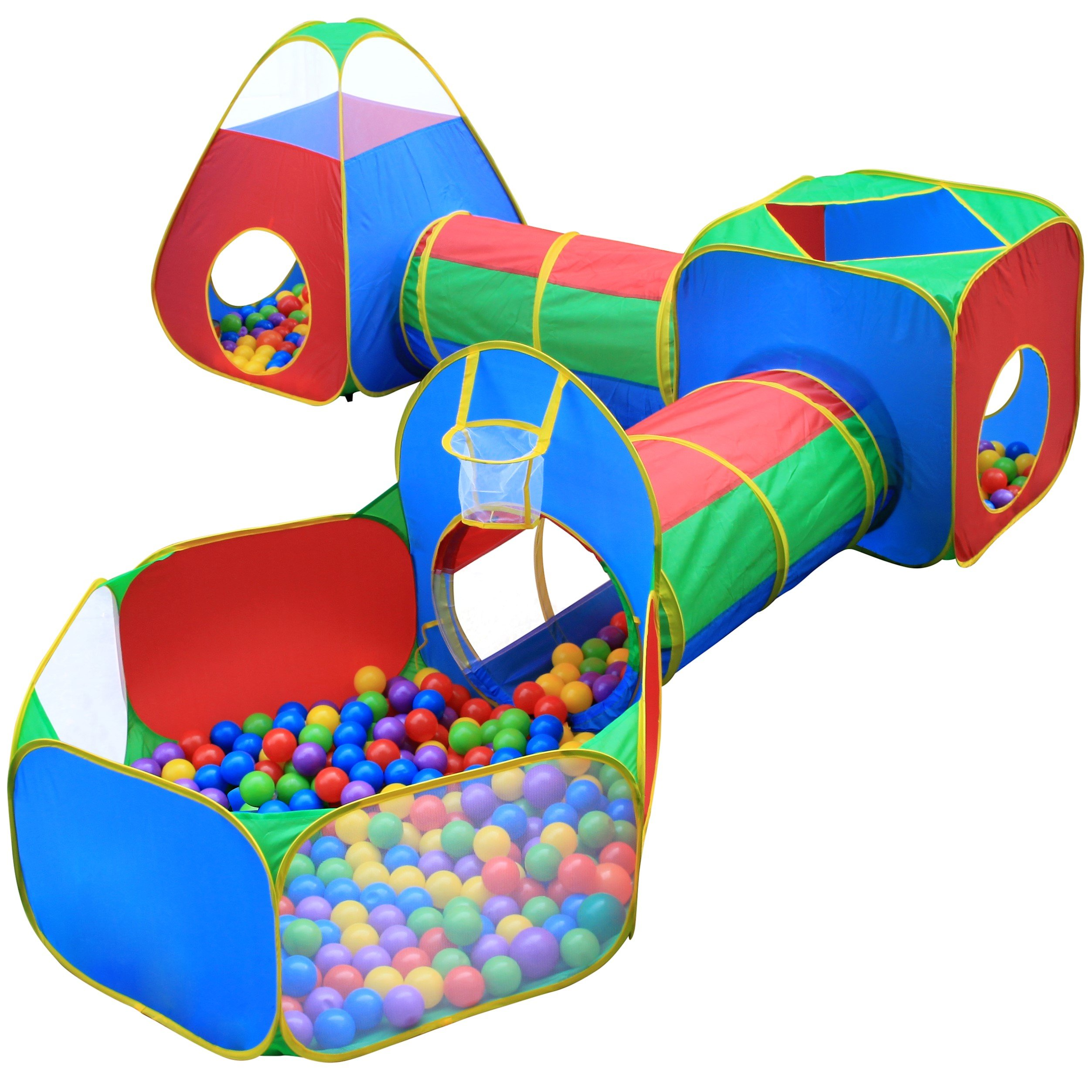 Get Quotations · Hide N Side 5pc Kids Ball Pit Tents Tunnels Toddler Jungle Gym Play Tent Play  sc 1 st  Alibaba & Cheap Childrens Play Tents And Tunnels find Childrens Play Tents ...