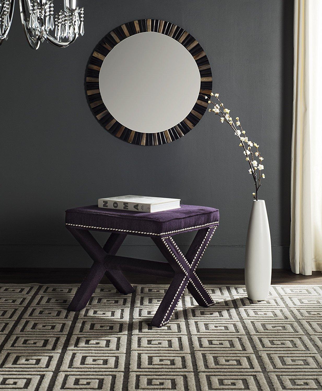 Safavieh Palmer Ottoman - Purple