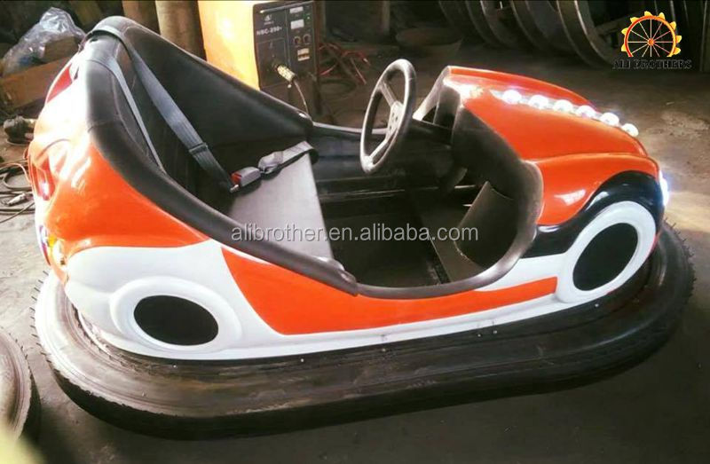 Attraction Amusement Park Equipment Used Electric Bumper Cars For Sale