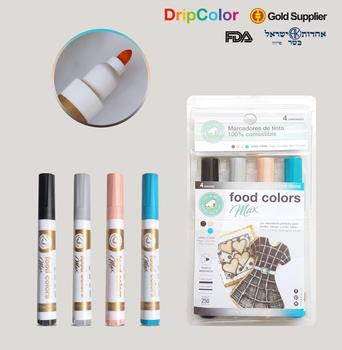Food Coloring Edible Markers Pens Writer Cake Decorating Writing Felt - Buy  Food Felt,Food Marker,Food Pen Product on Alibaba.com
