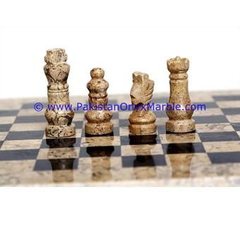Superbe Onyx Marble Chess Set Handmade Handcrafted MARBLE CHESS BOARDS WITH FIGURES