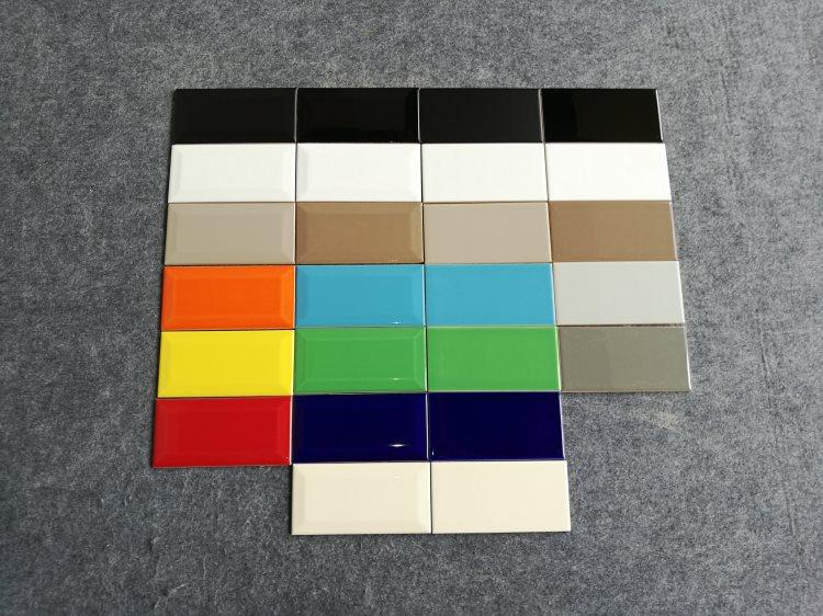 Usa stijlvolle platte witte matte metro tegel keramische voor