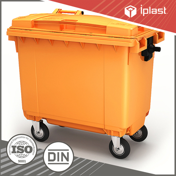 1100 L Plastic garbage storage FCA price waste container