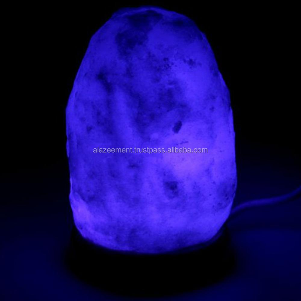Salzkristall Lampe Im Schlafzimmer