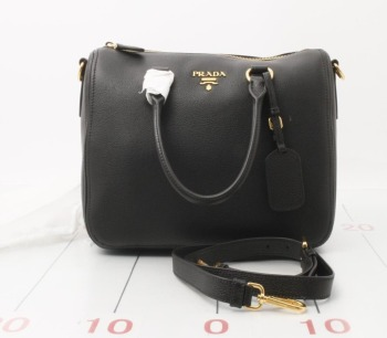 Original Used Prada Handbags Good Quality 1bb023 Pure Leather Genuine For Whole To Retailers