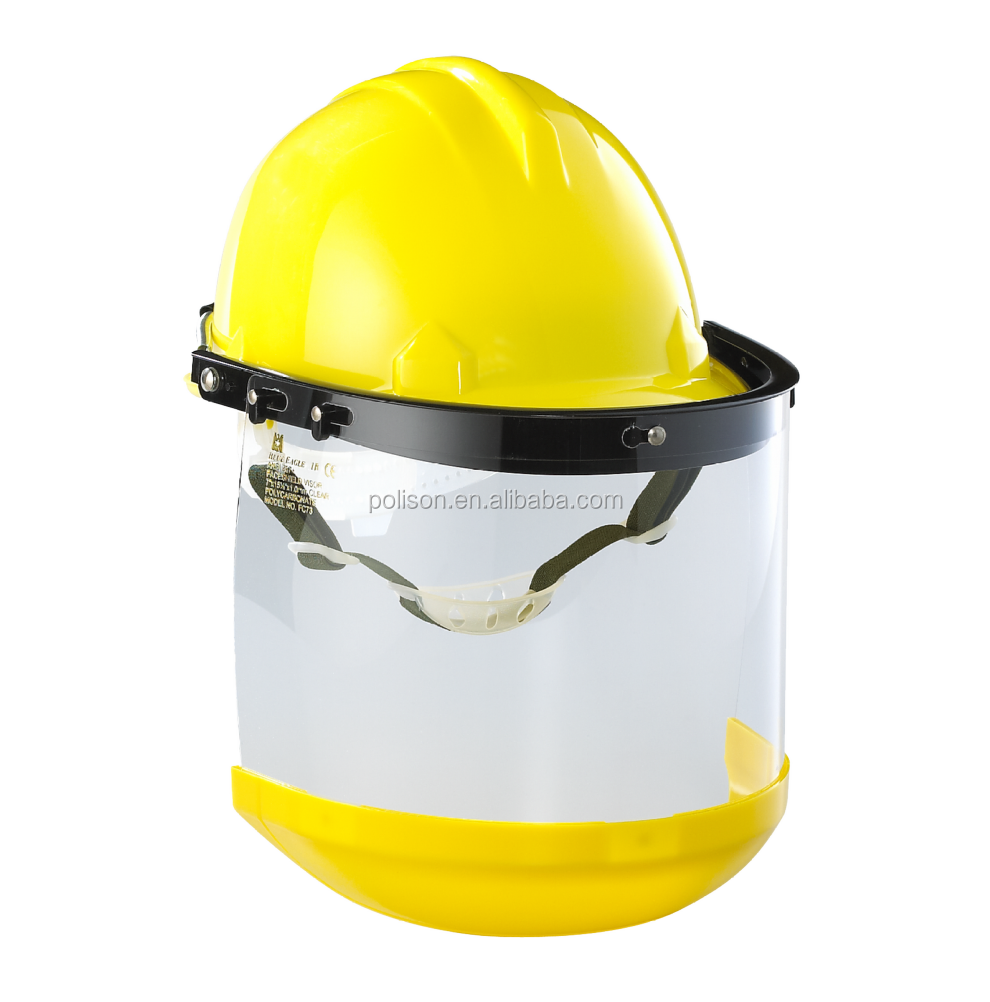 Workplace Safety Supplies FC73 1.0mm Face Shield Visor with Chinguard