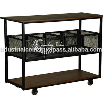 Trolley Coffee Table.Industrial Storage Trolley Industrial Furniture Movable Furniture Cum Coffee Table With Wheels Buy Trolley Industrial Furniture Wheel Coffee Table