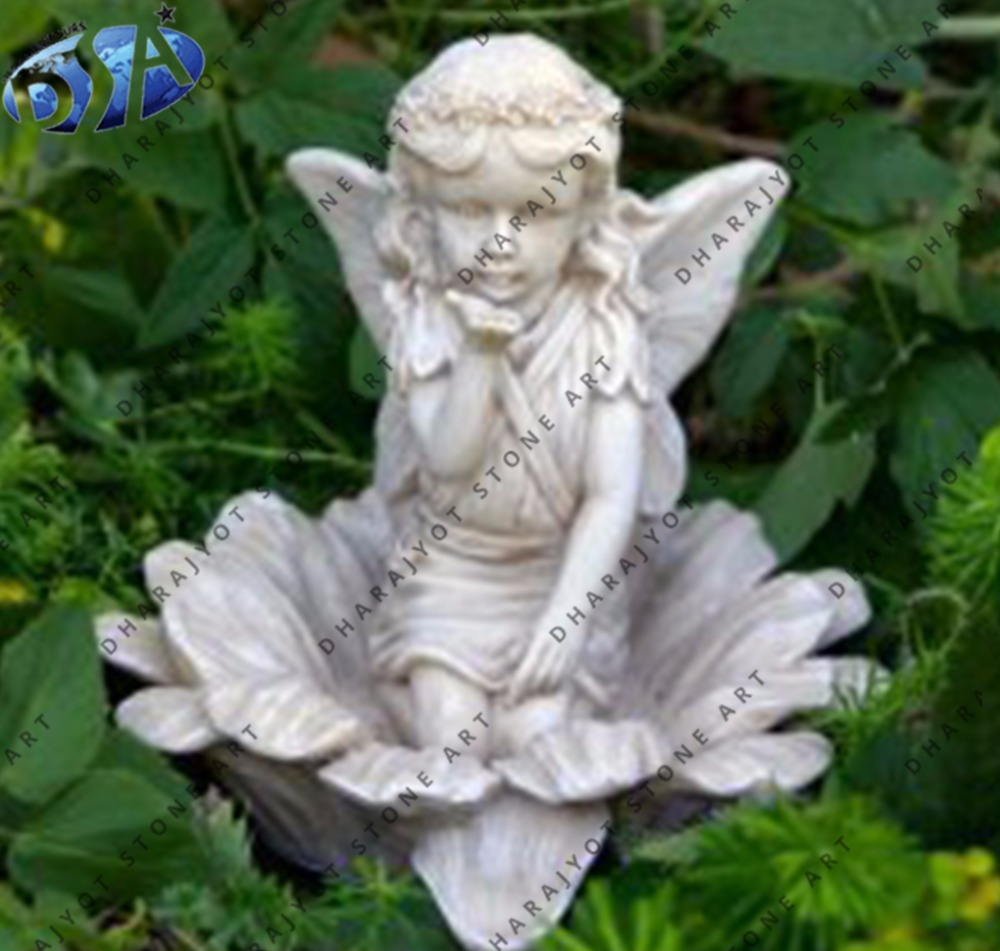 Marble Garden Angel Statue, Marble Garden Angel Statue Suppliers And  Manufacturers At Alibaba.com