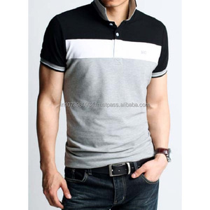 95% cotton 5% spandex polo t-shirts