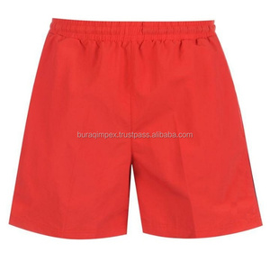 Private label swimwear manufacturer 100% polyester mens swim shorts