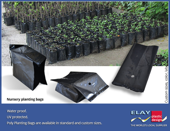 Plastic Planting Bags