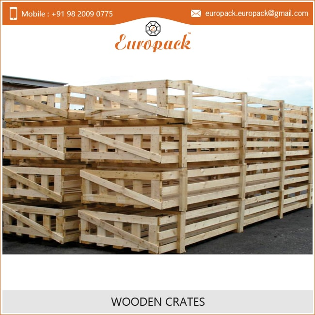 Wholesale Vintage Large Wooden Crates for Packing