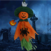 Hot Sale Halloween Decorations Creepy Hanging Scarecrow Ghost Halloween Home Garden Led Bar Party Supplies Haunted House Props