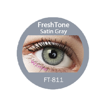 Satine Gray Premium Contact Lens From South Korea At Low ...