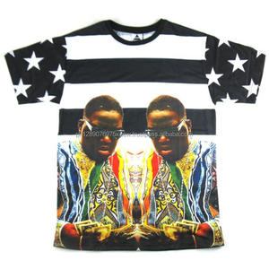 African Men Sublimation Printing T Shirts Wholesale