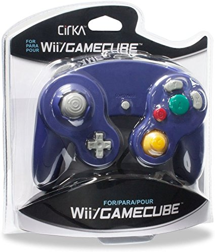 Get Quotations · CirKa Wired Controller for GameCube/ Wii (Purple)