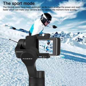 Smartphone Mobile Phone Handheld Gimbal 3-Axis Stabilizer Face Tracking Selfie Stick for iPhone Android Action Cameras