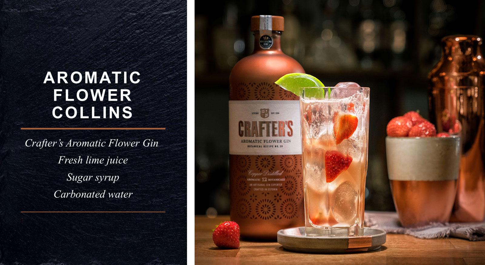 Distilled Blended Bulk Gin Box from Famous Brand with Lavender Lemon Orange Rose Hip Flower