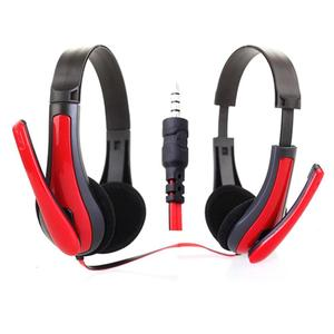 Red/Blue Universal Computer Laptop PC Headphone Ergonomic Design 3.5MM Wired Playing Game Headset