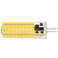 Dimmbar hohe lumen 72pcs 2835 5W <span class=keywords><strong>ampulle</strong></span> silicon g4 12Vac/dc led-lampen