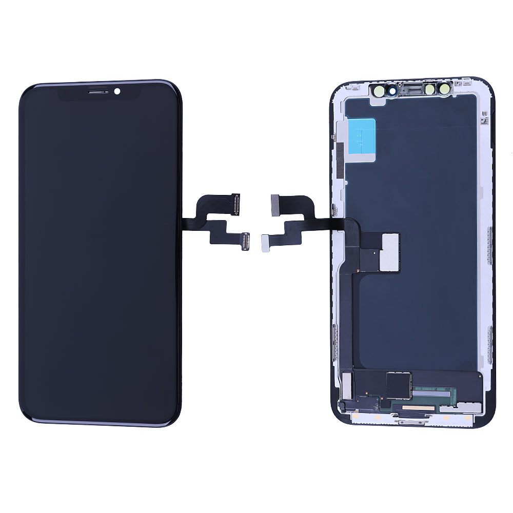 Elekworld OEM TFT <strong>LCD</strong> for iPhone X <strong>LCD</strong> Display Touch Screen With Digitizer Replacement Soft Hard OLED Repair Parts