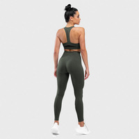 New Fast Dry Elastic Tight Fitness Pants Women Training Yoga Sports Seamless Leggings