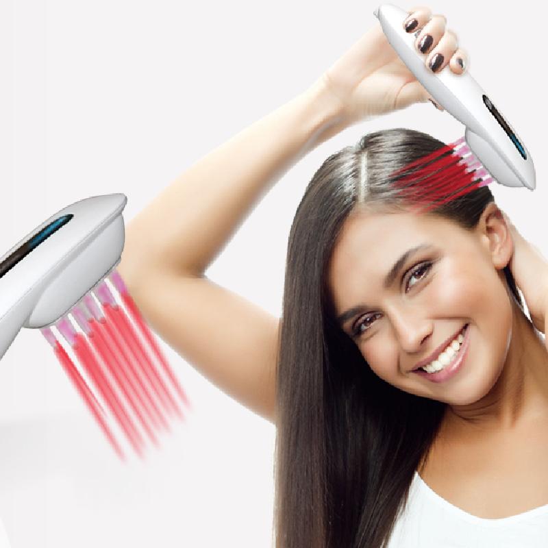 اختراعات جديدة 2020 مشط ليزر نمو الشعر الصحي لمنع تساقط الشعر علاج تدليك الرأس الأجهزة الطبية