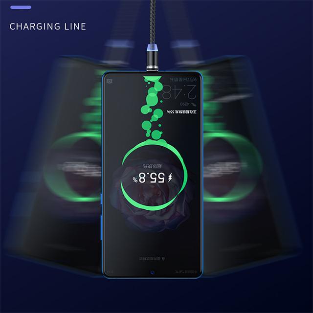 Бесплатная доставка, для детей возрастом от 1 до M Чехлы для мобильного телефона с магнитной защелкой usb-кабель 3 в 1 кабель для быстродействующего зарядного устройства с разъемом Micro USB Type-C кабель для зарядки Settpower UC001