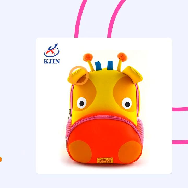 new style customized cartoon high quality kids neoprene backpack