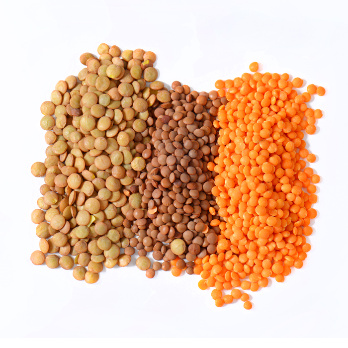 Green Lentil Beans / Red ,Green and Yellow Lentil
